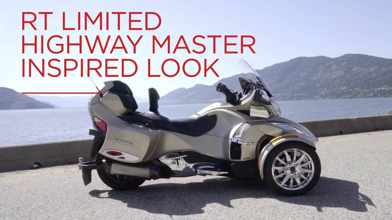 Roadster Ul Can Am Spyder Rt Limited Highway Master 2017