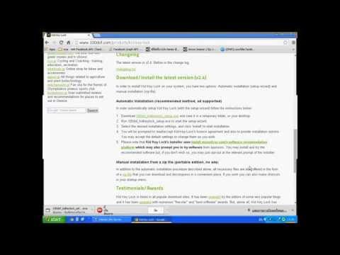 #2 วิธี ปิด/เปิด โปรแกรมป้องกันไวรัส Eset Nod32 antivirus