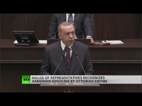 Turkey livid as US recognizes Armenian genocide