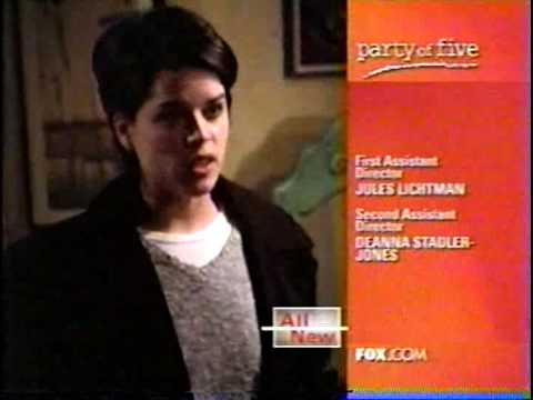 Party of Five: You hit me Ned!