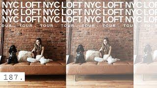 SUPER RAW NEW NYC LOFT TOUR