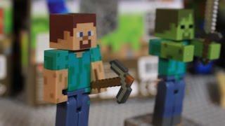 Обзор на странный набор Minecraft - не Lego!