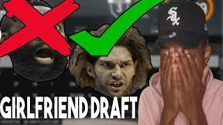 i can only draft players my girlfriend knows | NBA 2K19 Rebuilding Challenge thumbnail