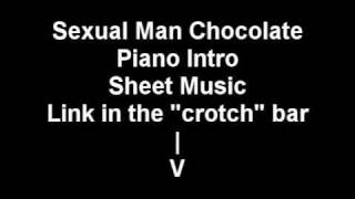 Attack Attack - Sexual Man Chocolate Piano Intro Sheet Music