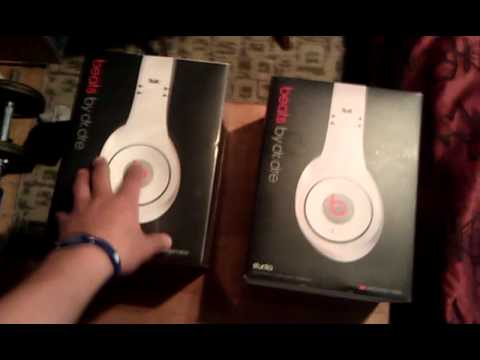 fake vs real beats by dre white studio part 1 of 3 youtube