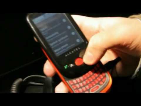 Alcatel OT 980 Меню