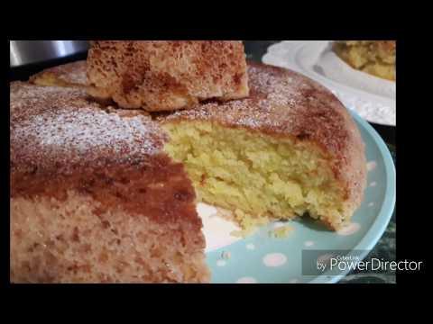 Пирог из кабачков в мультиварке сладкий