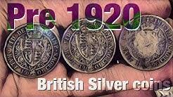 Silver British Coin