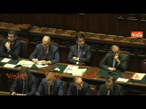 Del Rio a Conte Senato 2019