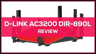 D-Link AC3200 Ultra Wi-Fi Router (DIR-890L) - Review