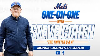 Twitter Q&A With Steve Cohen