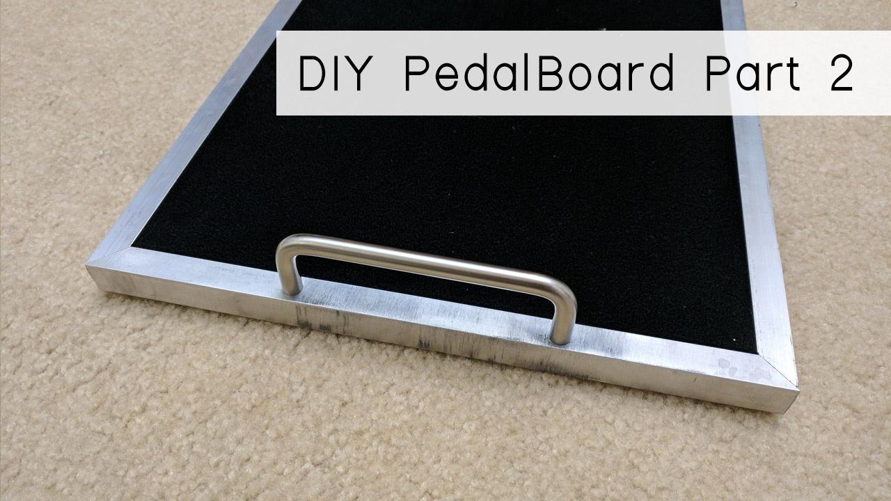 build your own diy pedalboard part 2 youtube. Black Bedroom Furniture Sets. Home Design Ideas