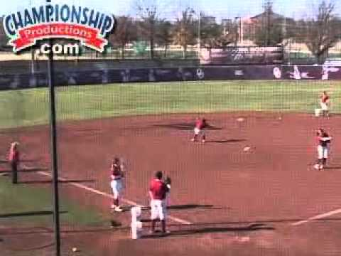 Fielding Drills With Patty Gasso