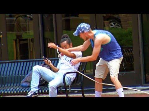 Handcuffing People Prank - RebelTV