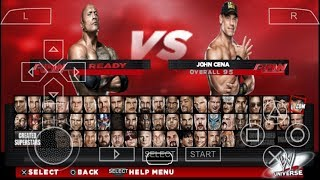 CARA DOWNLOAD DAN INSTALL GAME WWE SMACKDOWN Vs RAW 2K14 PPSSPP ANDROID