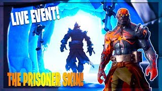 🔴 NEW FORTNITE UPDATE! *NEW PRISONER SKIN* // SNOW MELTING // FORTNITE BATTLE ROYALE