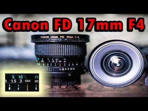 Canon FD 17mm F4 Wide Angle Classic Lens Adapted To Digital - FULL REVIEW