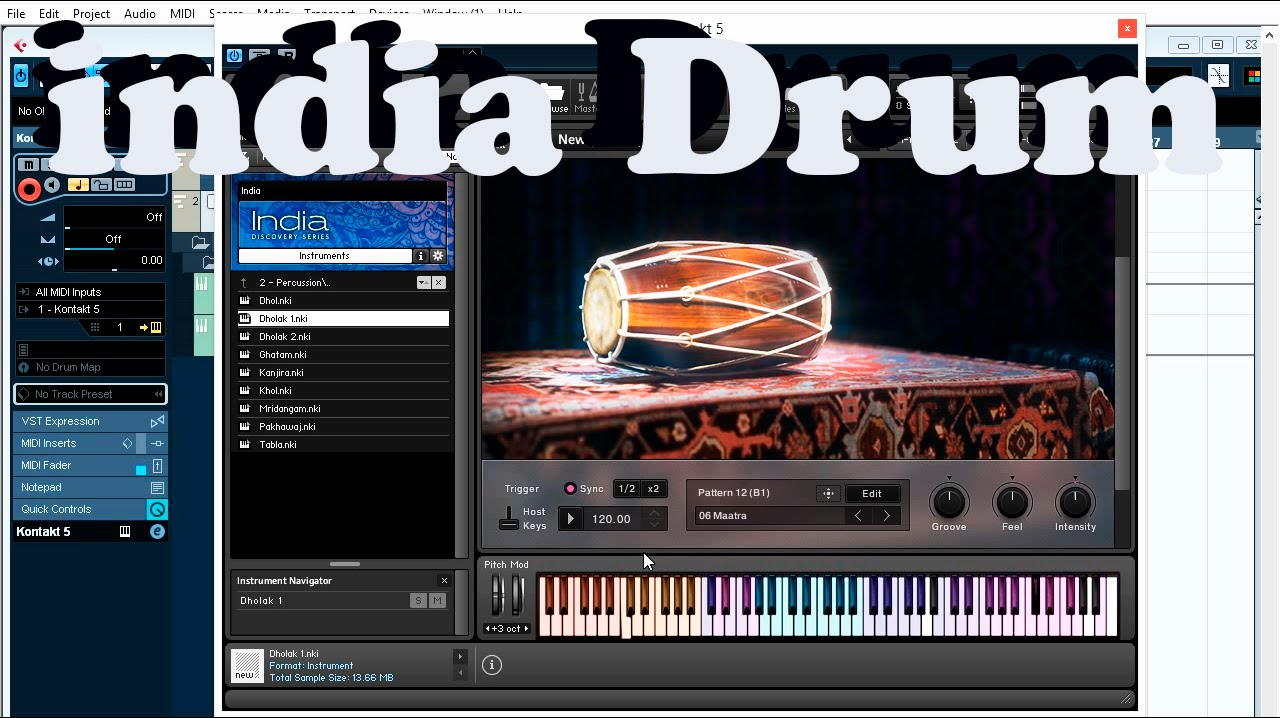 Native Instruments - Kontakt 5 - India Drum and Percussion lll Best VST  Plugins