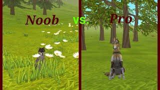 Wildcraft - Noob vs. Pro [kinda funny]