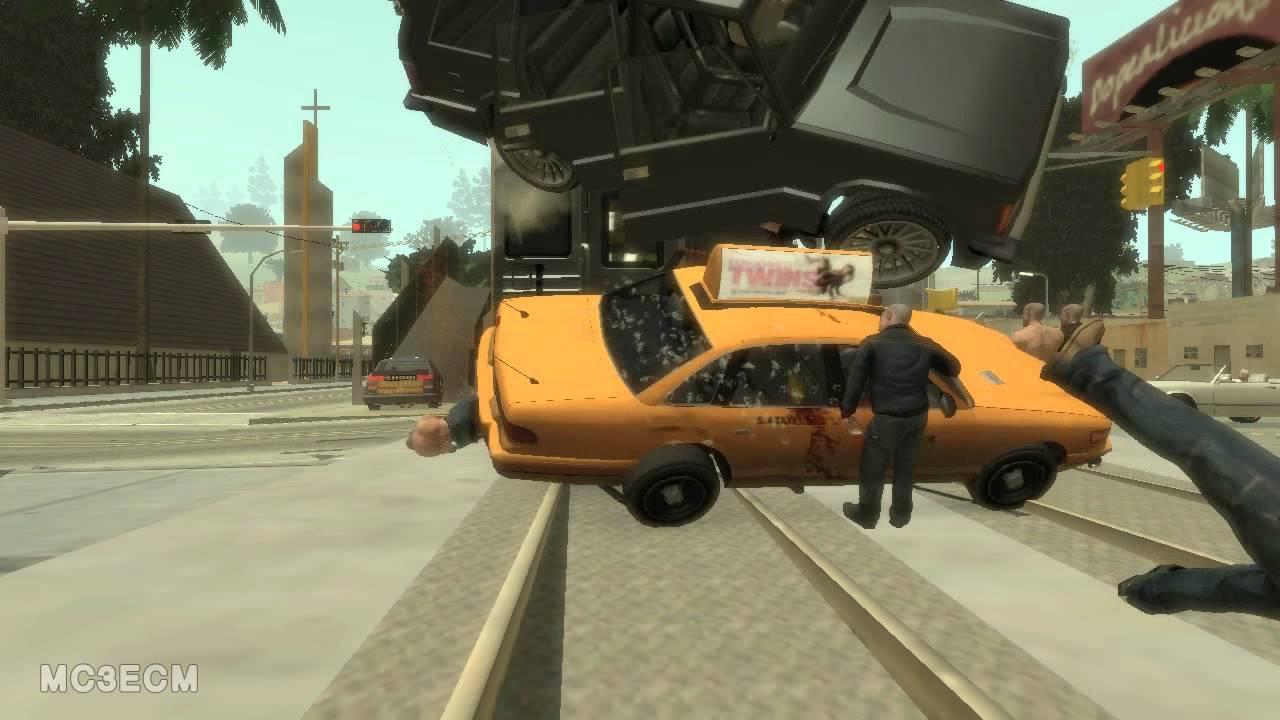 Gta Car Crashes Funny