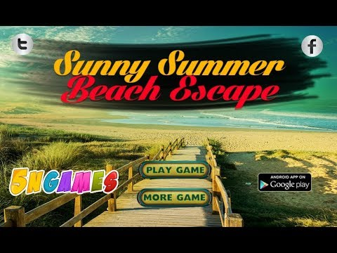 Sunny Summer Beach Escape Walkthrough [5nGames]
