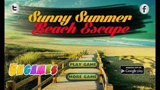 Sunny Summer Beach Escape Walkthrough [5nGames]