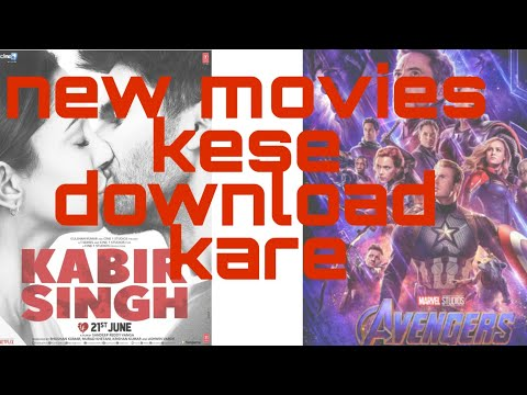 How To Download New Bollywood & Hollywood Movies Free