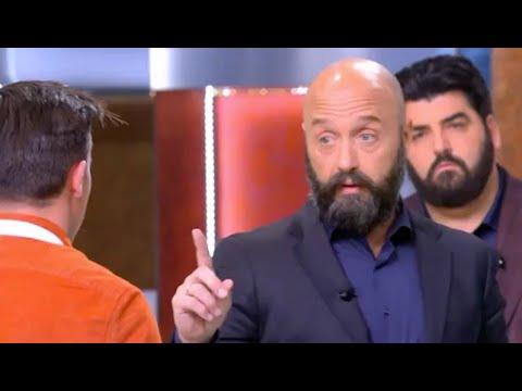"""""""Taci e porta rispetto""""  MasterChef, Bastianich furioso in diretta tv"""