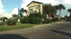 STREETS OF TIKI ISLAND, TEXAS, USA