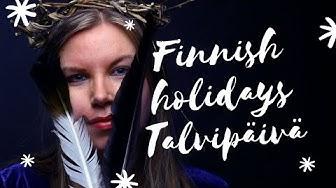 Finnish Pagan Holidays: Talvipäivän tasaus (Winter solstice)