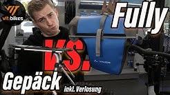Abnehmbarer Gepäckträger auch für Fullys - Thule Tour Rack - vit:bikesTV