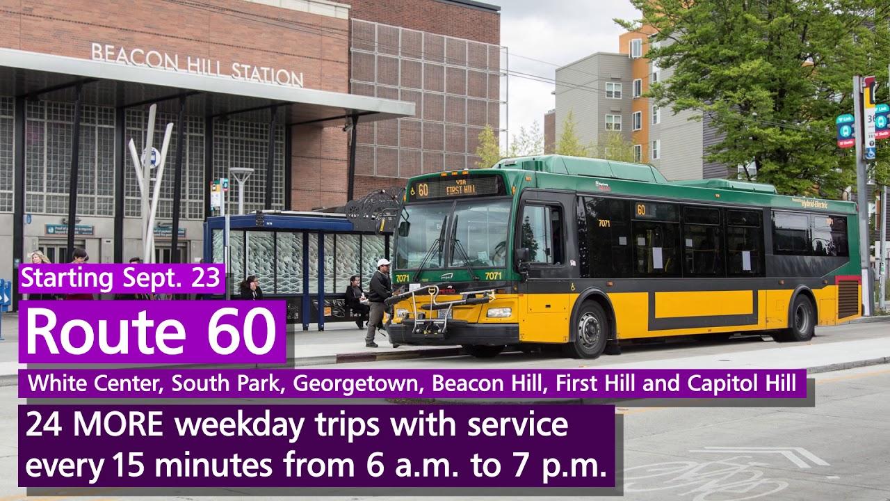Metro Transit: 2017 Fall Service change – Route 60