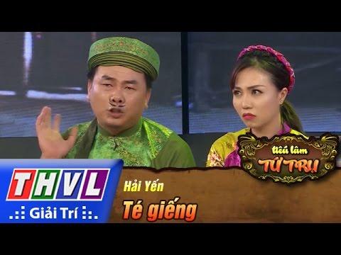 THVL | Tiếu lâm tứ trụ - Tập 10 [2]: Té giếng - Hải Yến