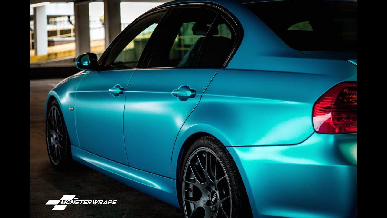Monsterwraps Bmw Satin Ocean Shimmer 3m 1080 Car