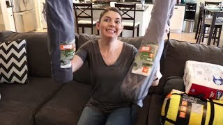 WALMART HAUL CAMPING TRIP | SHOP WITH ME