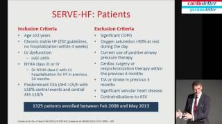 Martin Cowie: Treatment of sleep apnea in HF pts considering after SERVE HF results