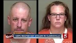 USPS Master Key Stolen In Clarksville