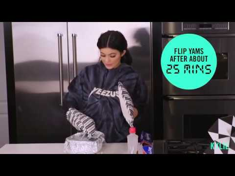 [FULL VIDEO] Kylie Jenner   Cooking With Kylie And Victoria   Candied Yams Recipe