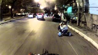 Drift Trike MG Praça do Papa Belo Horizonte ( descendo afonso pena )