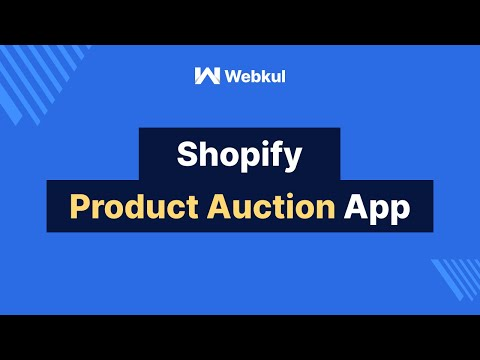Product Auction App By Webkul