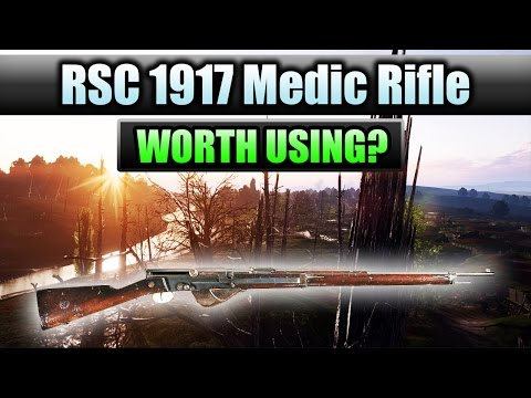 "Battlefield 1 ► DLC WEAPON #3 ""RSC 1917"" - REVIEW/ANALYSIS 