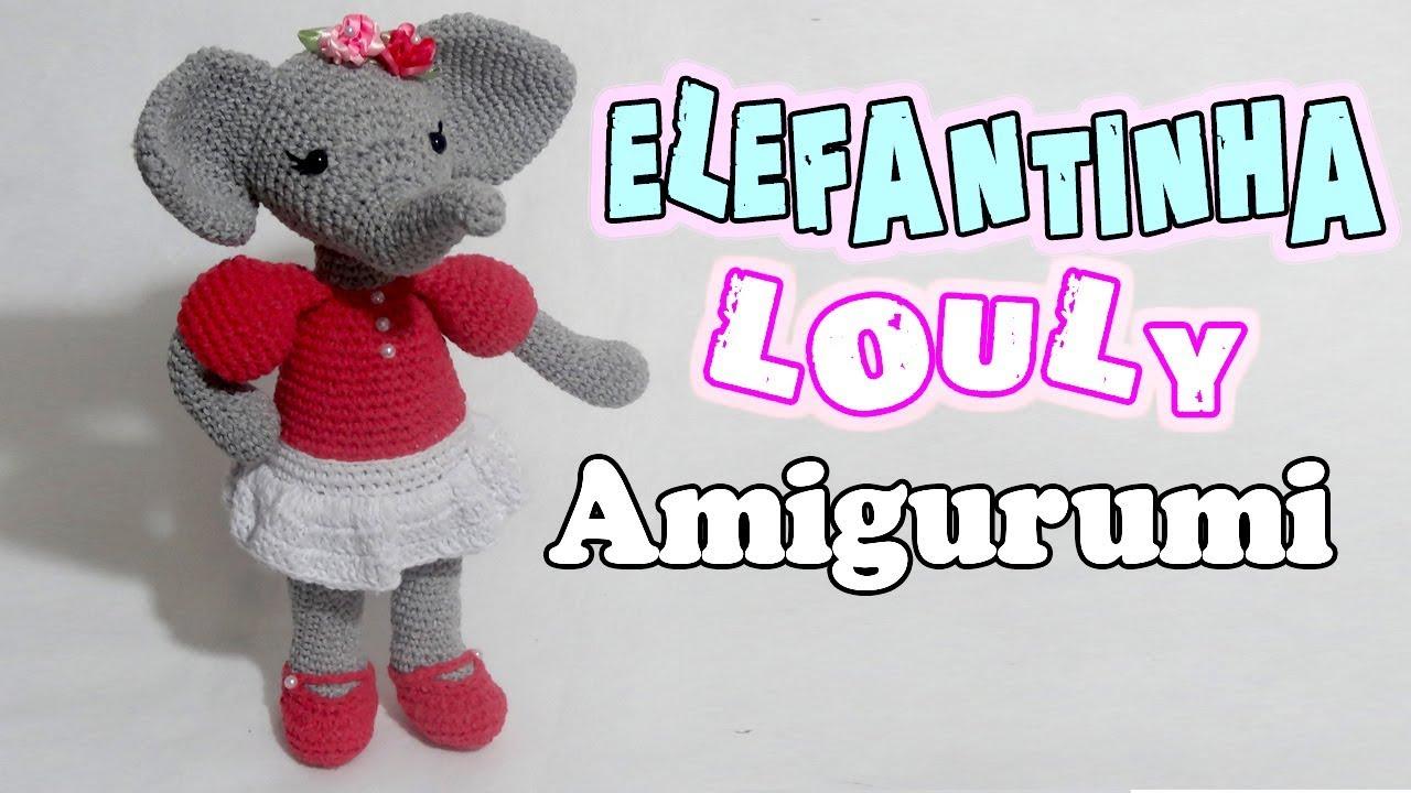 Elefante Nuno Crochê Amigurumi no Elo7 | Amores em Linha (10A02AC) | 720x1280