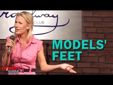 Models' Feet Stand Up Comedy