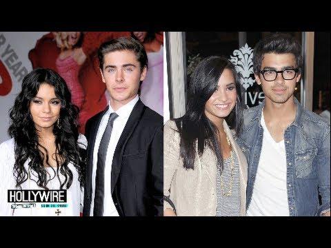 Demi Lovato Joe Jonas Vs Zac Efron Vanessa Hudgens One Otp Youtube