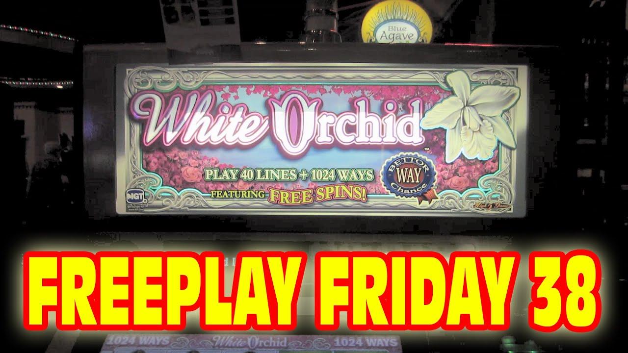 White Orchid Slot Machine