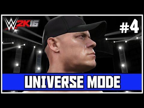 """WWE 2K16 Universe Mode - """"HEEL JOHN CENA STRIKES AGAIN!"""" - Episode 4 (Custom WWE 2K16 Universe Mode)"""