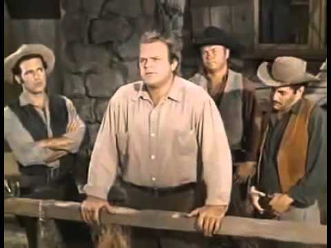 Bonanza S2 E9 Breed Of Violence Ben Cartwright, Little Joe