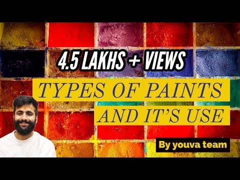 TYPES OF PAINT IN HINDI (INTERIOR DESIGNING)