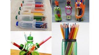 Botellas de plástico 10 Ideas para hacer manualidades thumbnail