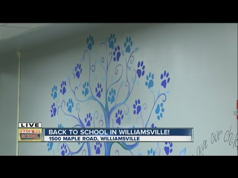 Maple East Elementary School students head back to school